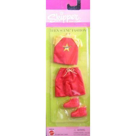 Barbie(バービー) Outfit Skipper Teen Scene Fashions 1999 ドール 人形 フィギュア