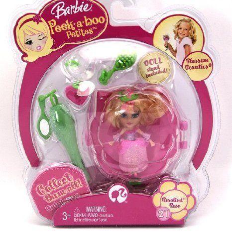 Barbie(バービー) Peekaboo Petites Blossom Beauties Collection - #21 Rosalind Rose ドール 人形 フィ