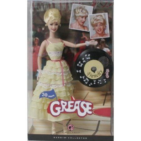 Barbie(バービー) ピンク Label Collection Grease Baribie Doll - Frenchy ドール 人形 フィギュア