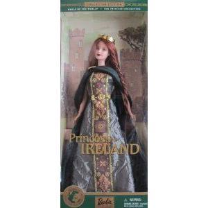 Barbie(バービー) PRINCESS of IRELAND Dolls of the World COLLECTOR Edition (2001) ドール 人形 フィ