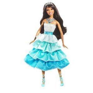 Barbie(バービー) Sparkle Lights Princess Nikki Doll ドール 人形 フィギュア