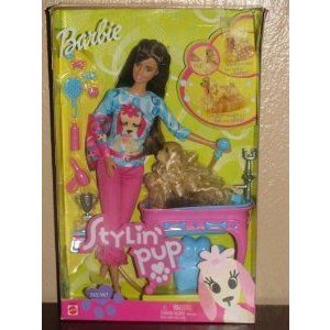 Barbie(バービー) Stylin Pup, Brunette ドール 人形 フィギュア