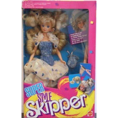 Barbie(バービー) Super Style Skipper ドール 人形 フィギュア