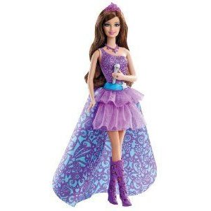Barbie(バービー) The Princess and The Popstar Keira Doll ドール 人形 フィギュア