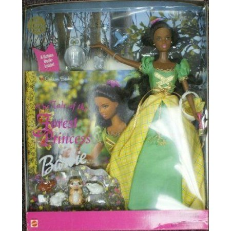 Barbie(バービー) The Tale of the Forest Princess African American ドール 人形 フィギュア