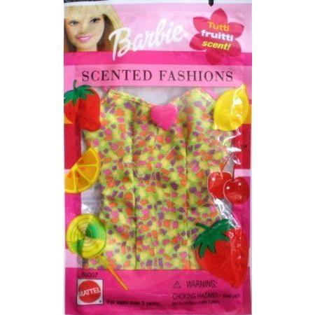 Barbie(バービー) Tutti Fruitti SCENTED FASHIONS w Dress (2001) ドール 人形 フィギュア