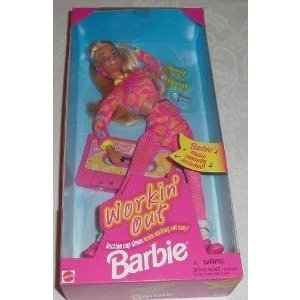 Barbie(バービー) Workin' Out Doll (1996) ドール 人形 フィギュア