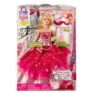 Barbie(バービー) Year 2009 A Fashion Fairytale Series 12 Inch Doll - 2 in 1 Barbie(バービー) (T256