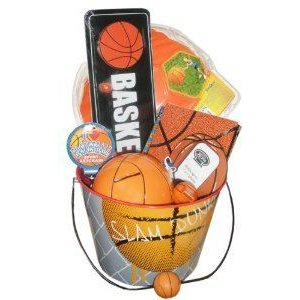 Basketball Lover's Gift Basket- Perfect for Birthdays, Easter, Get Well, and Other Special Occassi