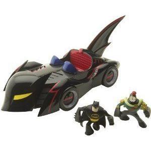 Batman: Set Diorama Batmobile Mini League Action Bold The