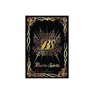 Battle Spirits Hologram Card Sleeve [Premium 黒 & ゴールド] フィギュア 人形 おもちゃ
