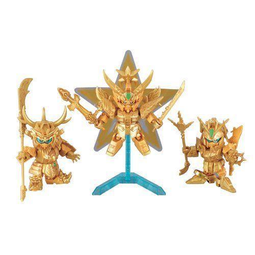 BB Senshi 010 Sangokuden Trinity Set フィギュア 人形 おもちゃ