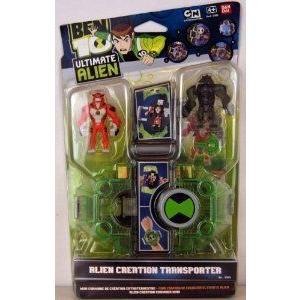 Ben 10 (ベン10) Ultimate Alien 37991 - Alien Creation Transporter Rath & Humungousaur