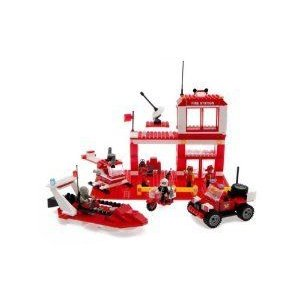 Best-Lock Construction Toys Fire Rescue 450+ pieces! ブロック おもちゃ