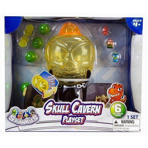 Blip Squinkies ぷにっキーズ Skull Cavern Deluxe Gumball Dispenser フィギュア ダイキャスト 人形
