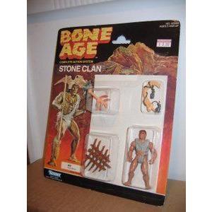 Bone Age Stone Clan Kos Mint on Card 1980's
