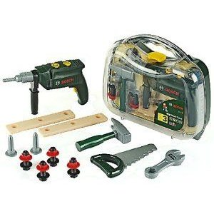 BOSCH Big Toolcase With Battery-operated Drill フィギュア おもちゃ 人形