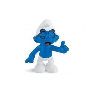 Brainy Smurf ~2.1 ミニフィギュア in a Gift Bag: シュライヒ Mini フィギュア Series [20536 131002fnp