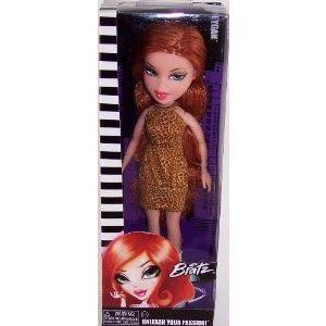 Bratz (ブラッツ) Unleash Your Passion Meygan Doll in in a Leopard Dress ドール 人形 フィギュア
