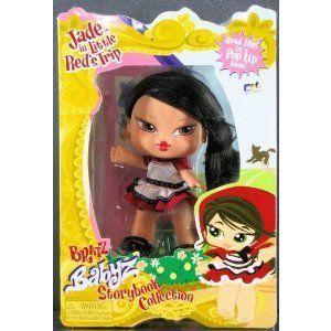 Bratz (ブラッツ) Babyz Storybook Collection Jade in Little 赤's Trip ドール 人形 フィギュア