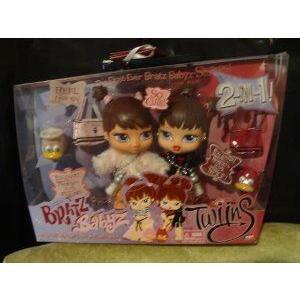 Bratz (ブラッツ) Big Babyz Twinz - Roxxi and Phoebe 2-Pack ドール 人形 フィギュア
