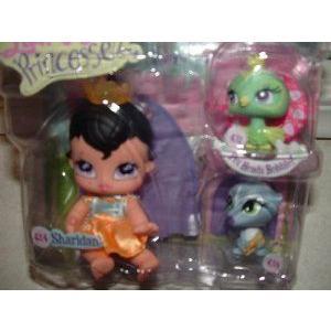 Bratz (ブラッツ) Lil' Angels Precious Lil' Angelz PRINCESSEZ Numbe赤 Collector Series 3 Pack Set