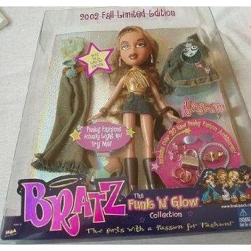 Bratz (ブラッツ) The Funk N Glow Collection Yasmin doll ドール 人形 フィギュア