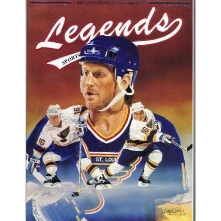 Brett Hull Hockey Legends Magazine ドール 人形 フィギュア