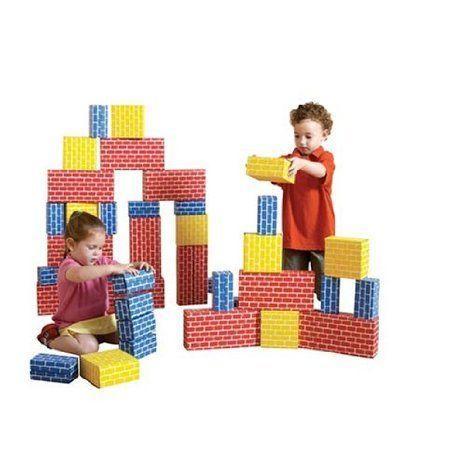 Brick Block Set (44 pcs.) ブロック おもちゃ