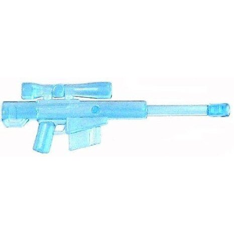BrickArms 2.5 Scale LOOSE Weapon High Caliber Sniper Rifle HCSR Trans 青 フィギュア おもちゃ 人