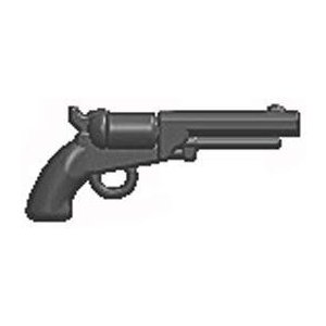 BrickArms 2.5 Scale LOOSE Weapon M1851 Navy Revolver Gray フィギュア おもちゃ 人形
