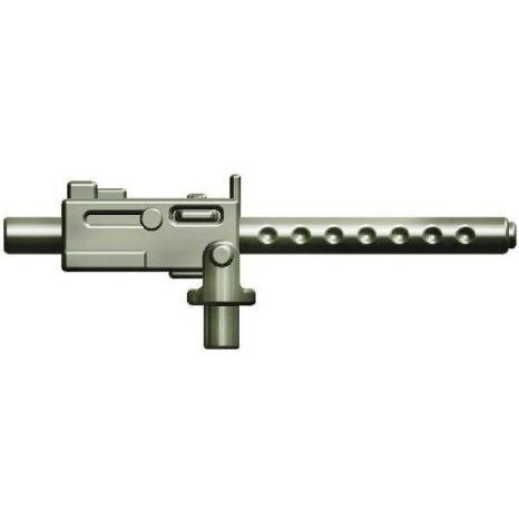 BrickArms 2.5 Scale LOOSE Weapon M1919 Machine Gun Titanium フィギュア おもちゃ 人形
