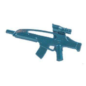Brickarms Custom Weapon Ac8 Cobalt 青 - Fits Lego (レゴ) , Mega Bloks (メガブロック) & Other Bra