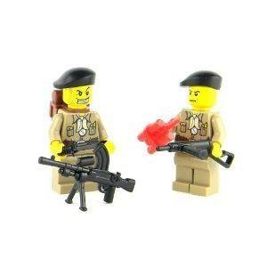 British SAS WW2 Soldiers- Battle Brick Custom Minifigures ブロック おもちゃ