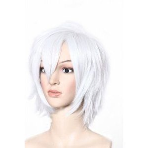 Brothers Conflict Asahina Tsubaki Short Cosplay Wig Anime 白い Color フィギュア おもちゃ 人形