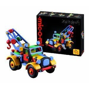 Building Set - Tow Truck Construction Toy Kit - Larger Size - 137 Piece - Ages 8+ ブロック おもち