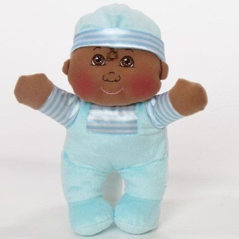 Cabbage Patch Kids (キャベツパッチキッズ) My First CPK Cuddle Sounds Boy Doll with 褐色 Eyes and