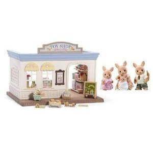 Calico Critters Toy Shop and Hopper Kangaroo Family ドール 人形 フィギュア