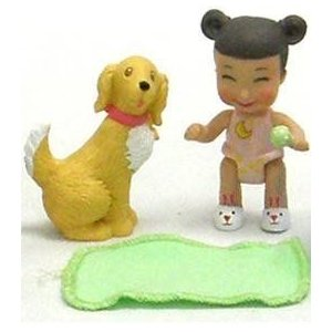 Caring Corners Baby Buds Nighty Night w/ Dog ドール 人形 フィギュア
