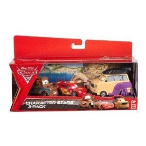 Cars 2 (カーズ2) Collector Sumo Wrestler, Mater And Lightning McQueen Vehicle 3-Pack ミニカー ミニ