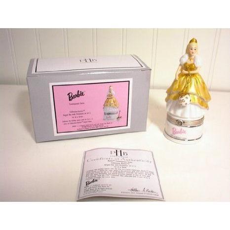 Celebration Barbie(バービー) Porcelain Hinged Box ドール 人形 フィギュア