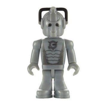 Character Building Micro フィギュア 人形 Doctor Who (ドクター・フー) - Cyberleader フィギュア おも