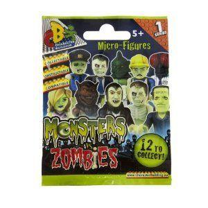 Character Building Monsters VS Zombies Blind Bags フィギュア おもちゃ 人形