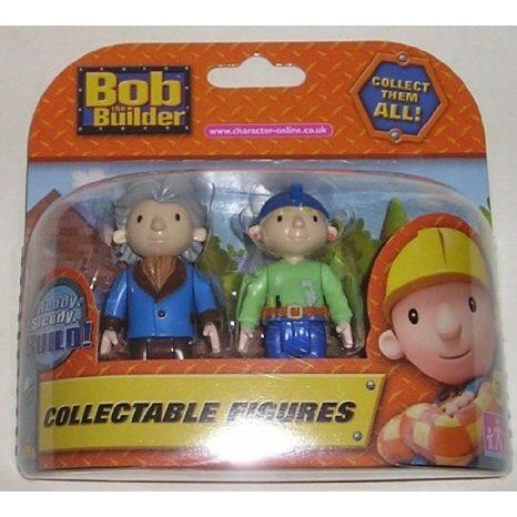 Character Options 03893 Bob The Builder 2 フィギュア 人形 Packs (Characters vary) フィギュア おも