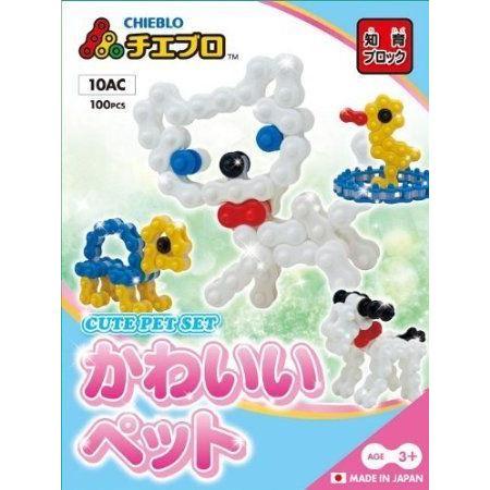 CHIEBLO-CUTE PET SET ブロック おもちゃ