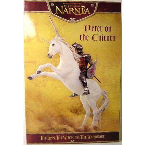Chronicles Of Narnia Peter On Unicorn Statue フィギュア ダイキャスト 人形