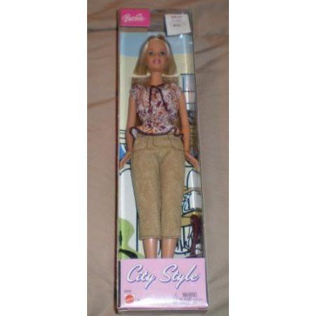 City Style Fashion Blonde Barbie(バービー) Doll ドール 人形 フィギュア