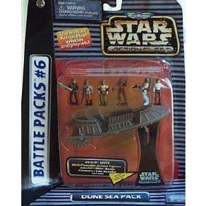 Classic Star Wars (スターウォーズ) Micro Machines Classic Battle Pack: Dune Sea #6