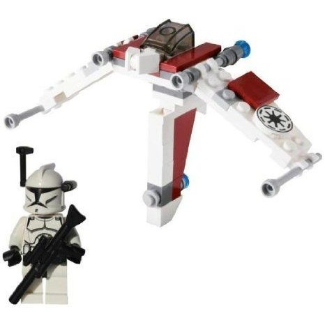 Clone Trooper with Long Blaster and Mini V-19 Torrent Set 8031 LEGO (レゴ) Star Wars (スターウォー