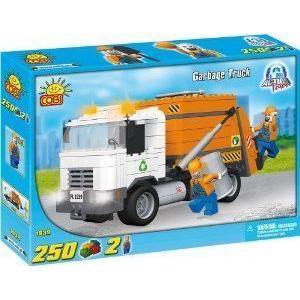 Cobi Blocks - Action Town - Garbage Truck 250 pcs ブロック おもちゃ